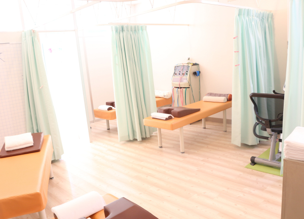 てるて接骨院鍼灸院の内観画像