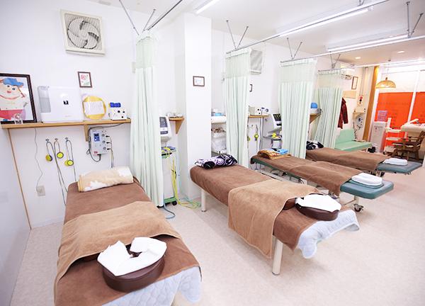 げんき鍼灸整骨院の内観画像