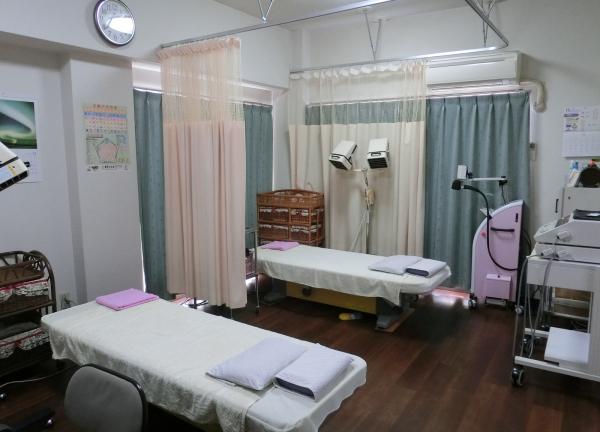 鍼灸ほぐしルーム ふじわら治療院の内観画像