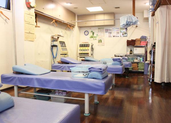 いるか堂鍼灸整骨院の内観画像