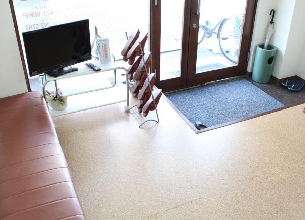 矢嶋接骨院の待合室画像
