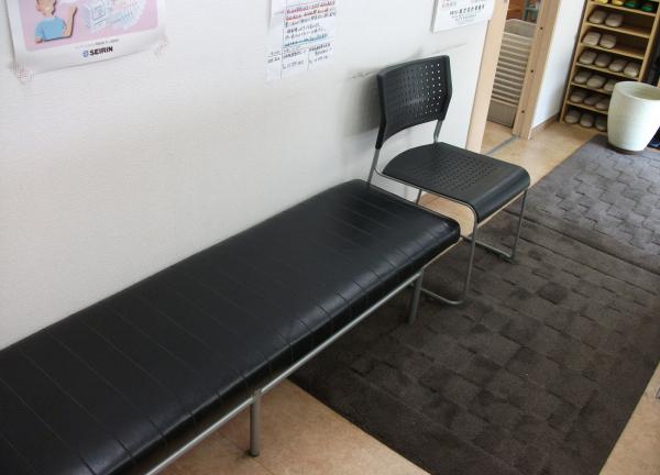 SUN鍼灸整骨院の待合室画像