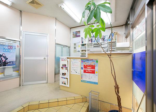 泉尾松浦整骨院の入口付近画像