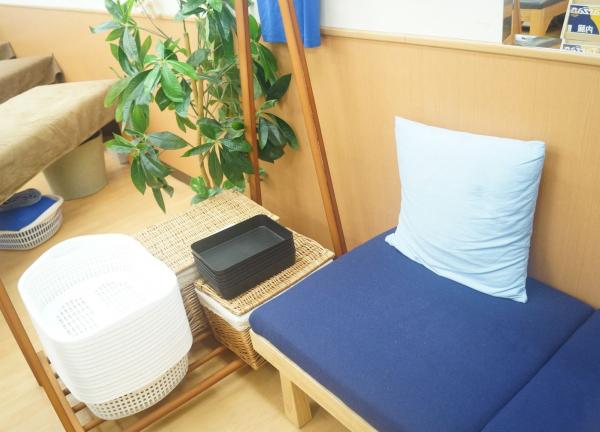 小林整骨院梅田の待合室の画像