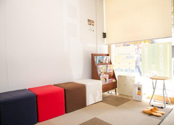 S-prime整骨院の待合室画像