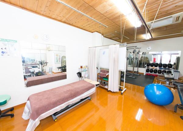 竹上鍼灸院の施設内風景