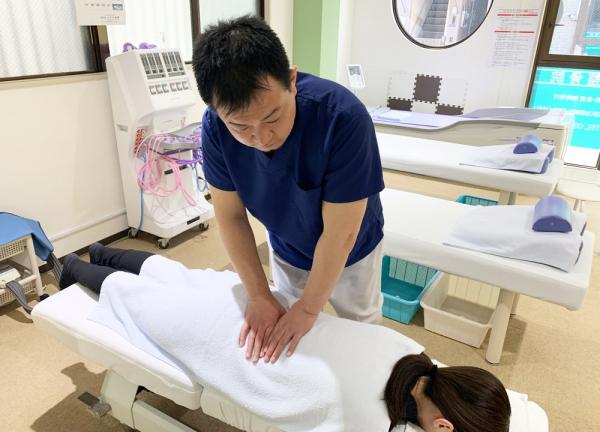 住吉佐藤鍼灸整骨院の施術風景画像