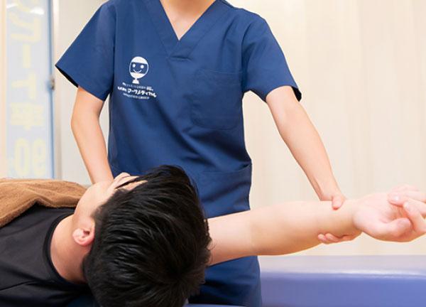 小川町鍼灸整骨院の施術風景画像