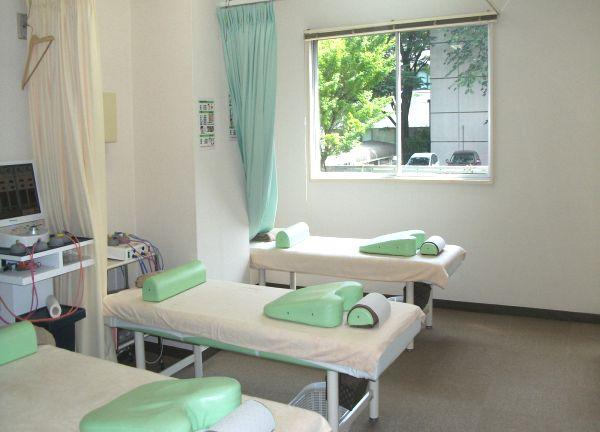 広尾こころ鍼灸整骨院 施術室
