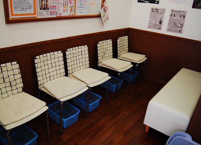 トータルボディケア なつめ 待合室
