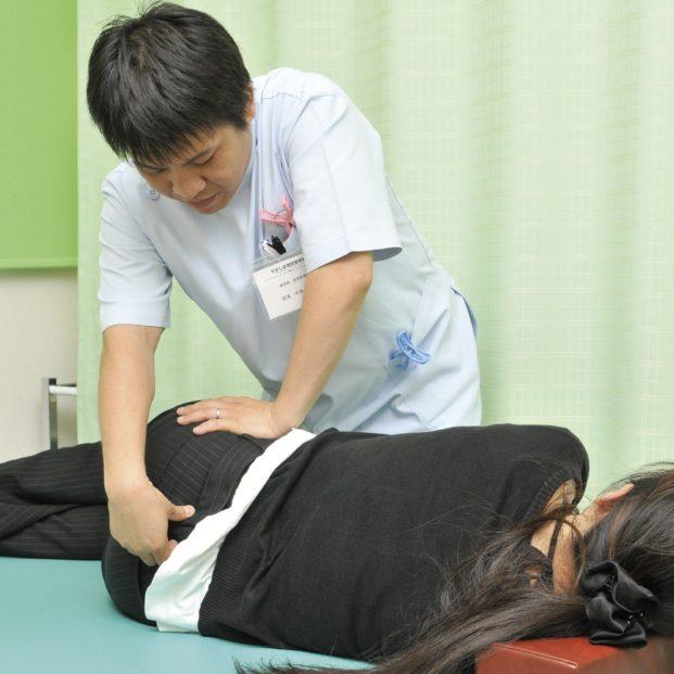 なかしま鍼灸整骨院 施術中