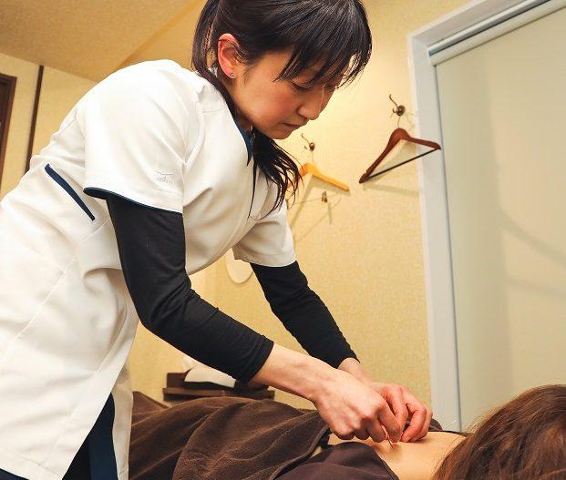 鍼灸あんまマッサージ指圧 ひとみ治療院のメインビジュアル