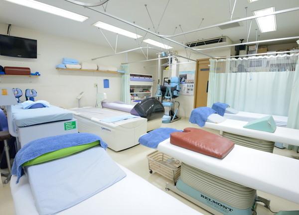 とくやま鍼灸接骨院 施術室