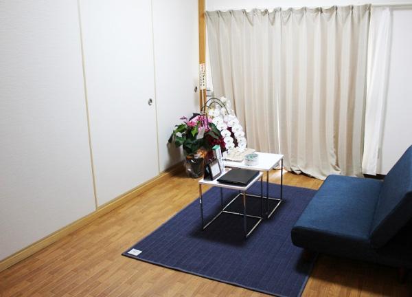セナ整体院の待合室