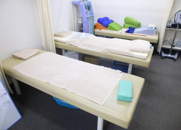 安藤鍼灸整骨院 施術室