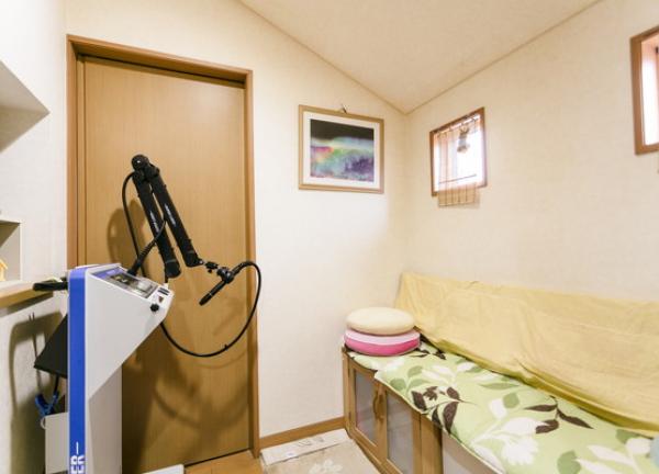 自然治癒大阪ソフト整体院 施術室