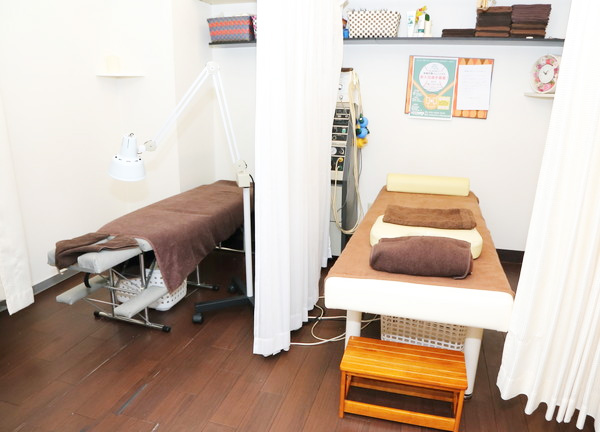 だるま整骨院の施術室