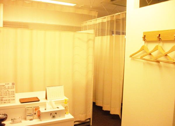 Relaxin'の施術室