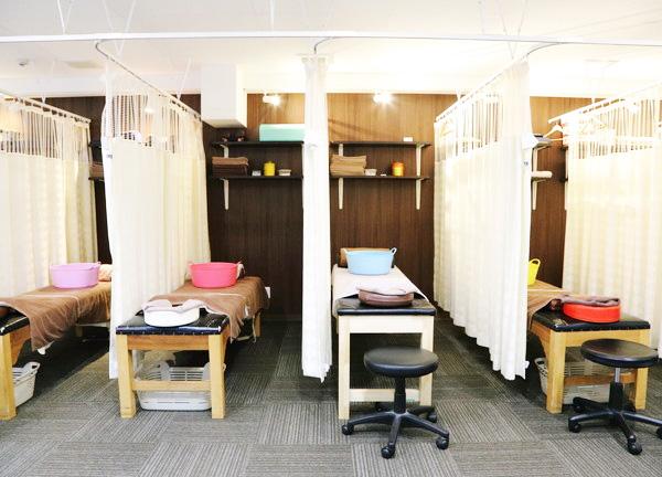 骨盤LABOの施術室