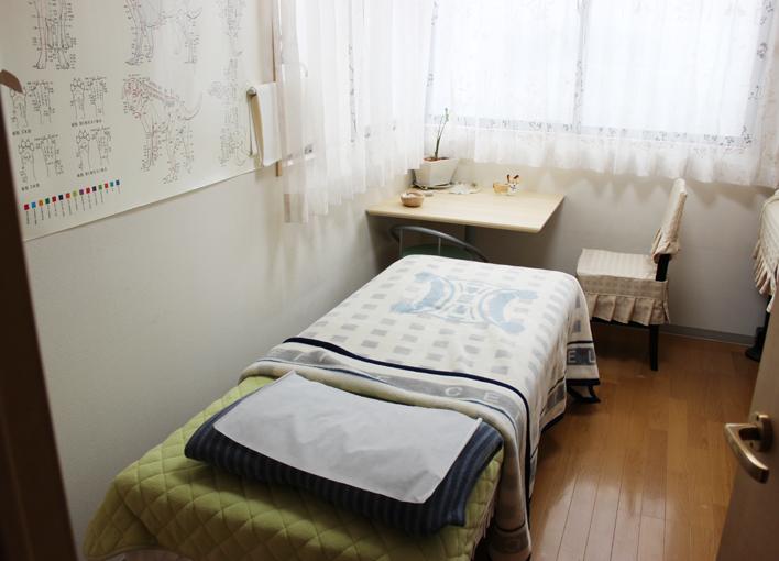 野と花(nodoka)鍼灸院 施術室