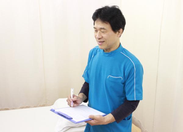 柔道整復 創健堂 先生②