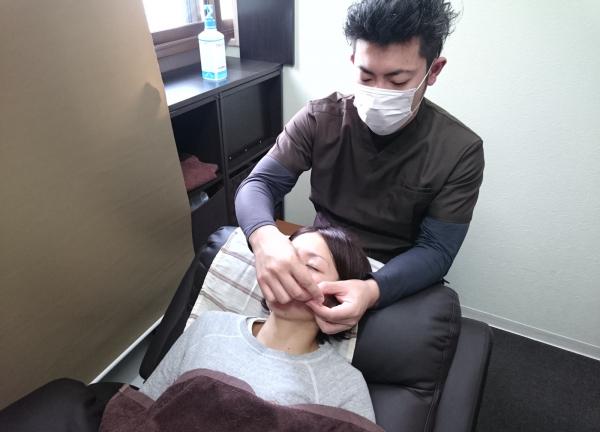 いまむら鍼灸整骨院の施術風景画像