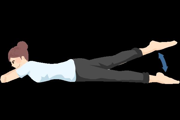 バタ足体操
