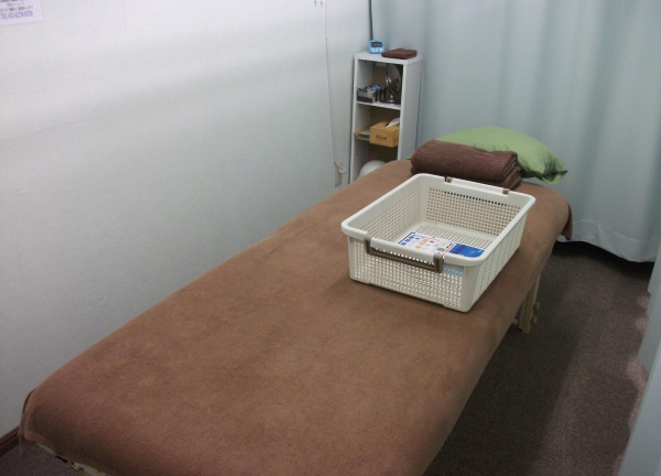 源整体院はりきゅう治療院の内観画像