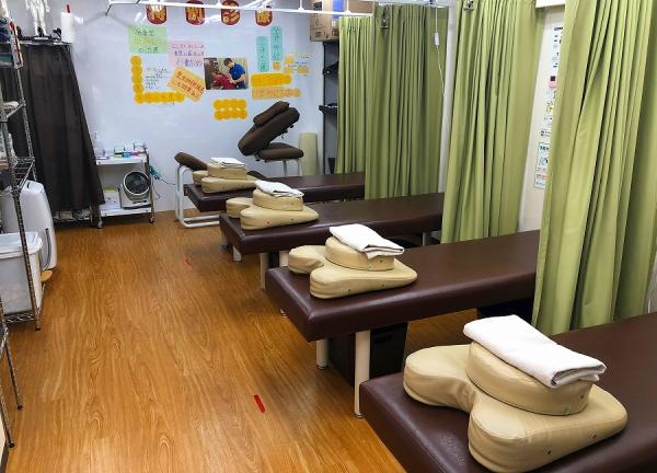 大泉名倉堂鍼灸整骨院の内観画像