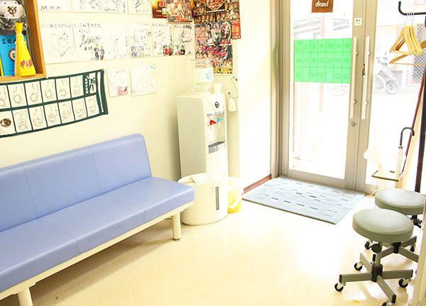だいご治療院の待合室画像