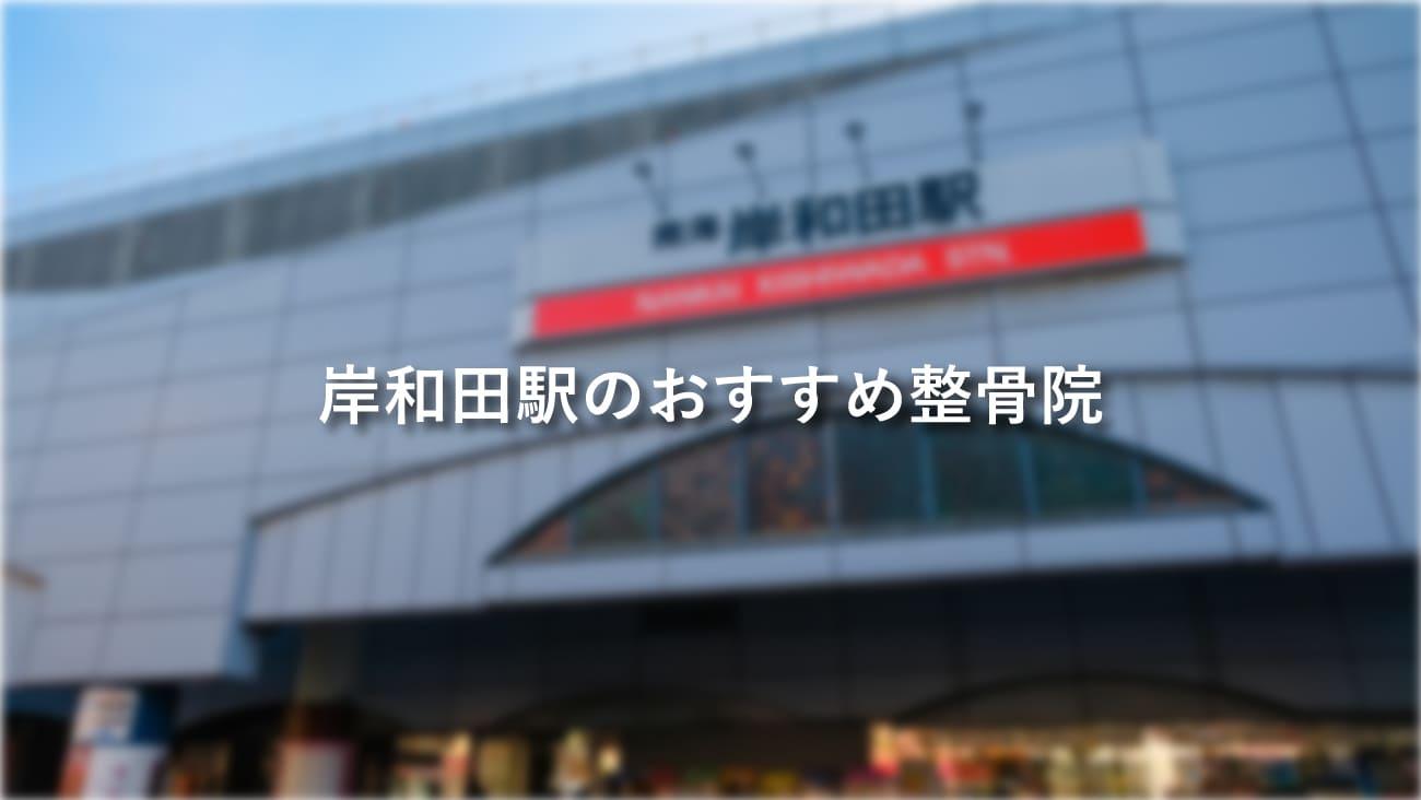 岸和田駅周辺でおすすめの整骨院4選!口コミで評判が良いお店のMV画像