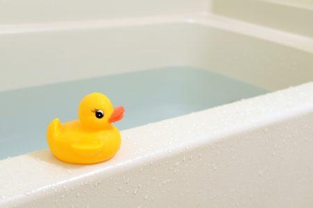 お風呂は控えめに