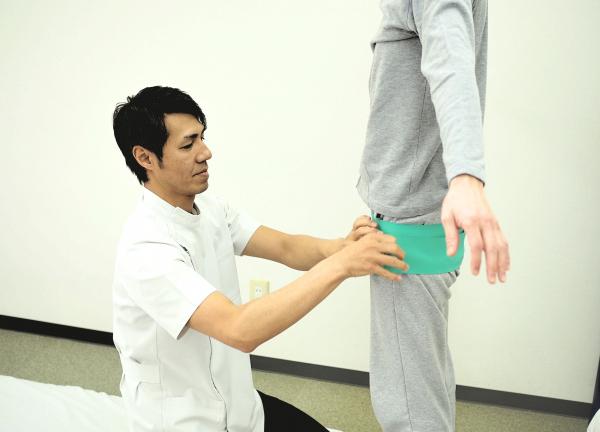 骨盤整体高田馬場施術室
