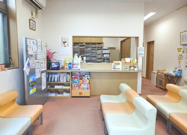 かなや鍼灸接骨院の待合室画像