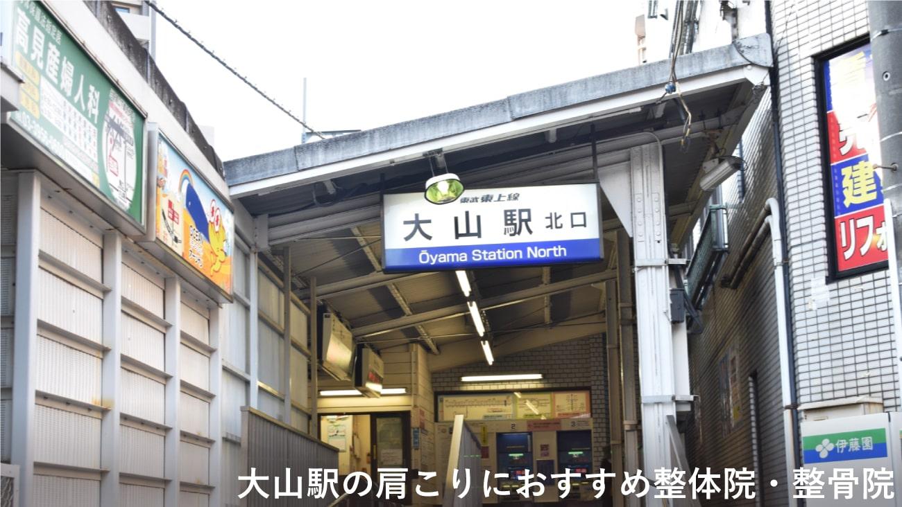 【大山駅(東京都)】周辺で肩こりにおすすめの整体院・接骨院4選!のMV画像