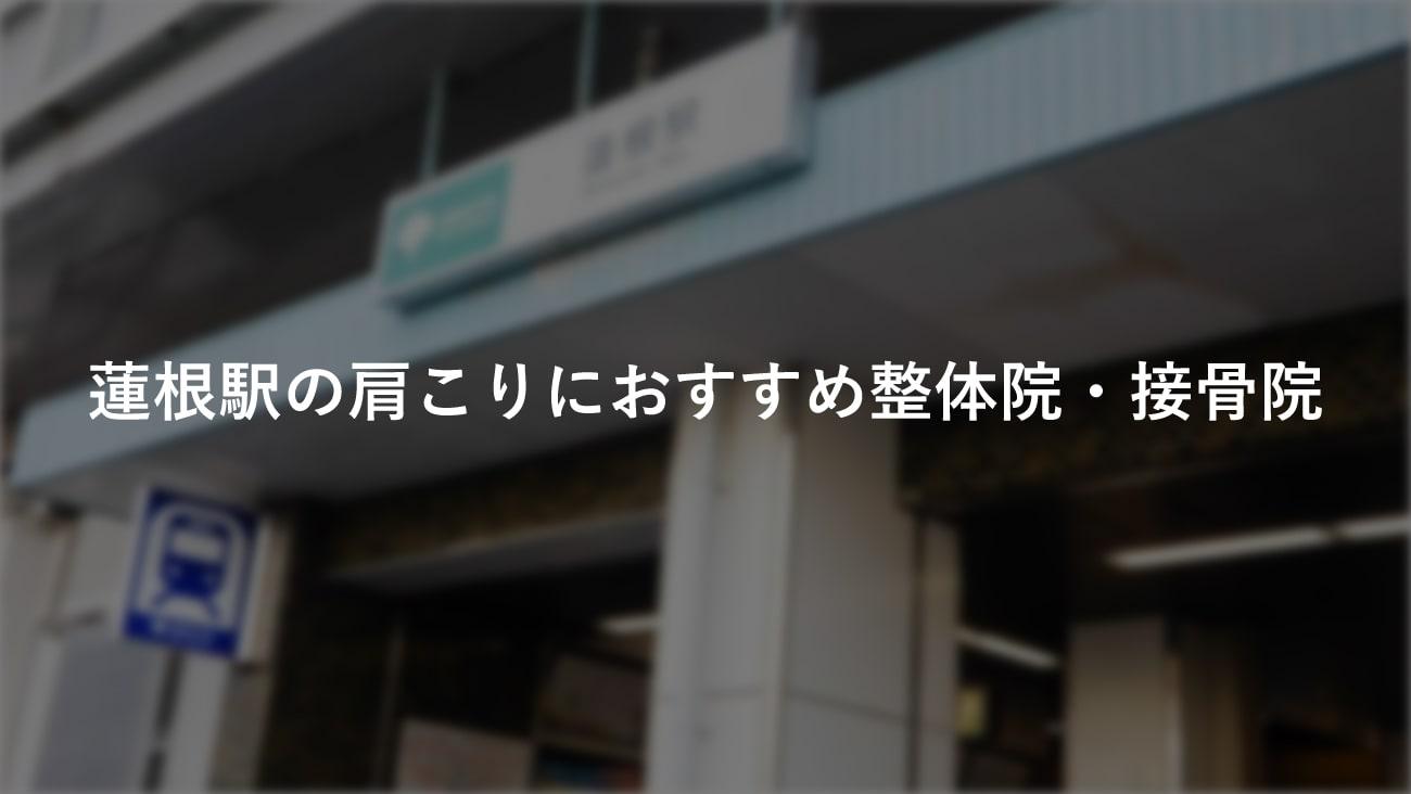 【蓮根駅】周辺で肩こりにおすすめの整体院・接骨院1選!のMV画像