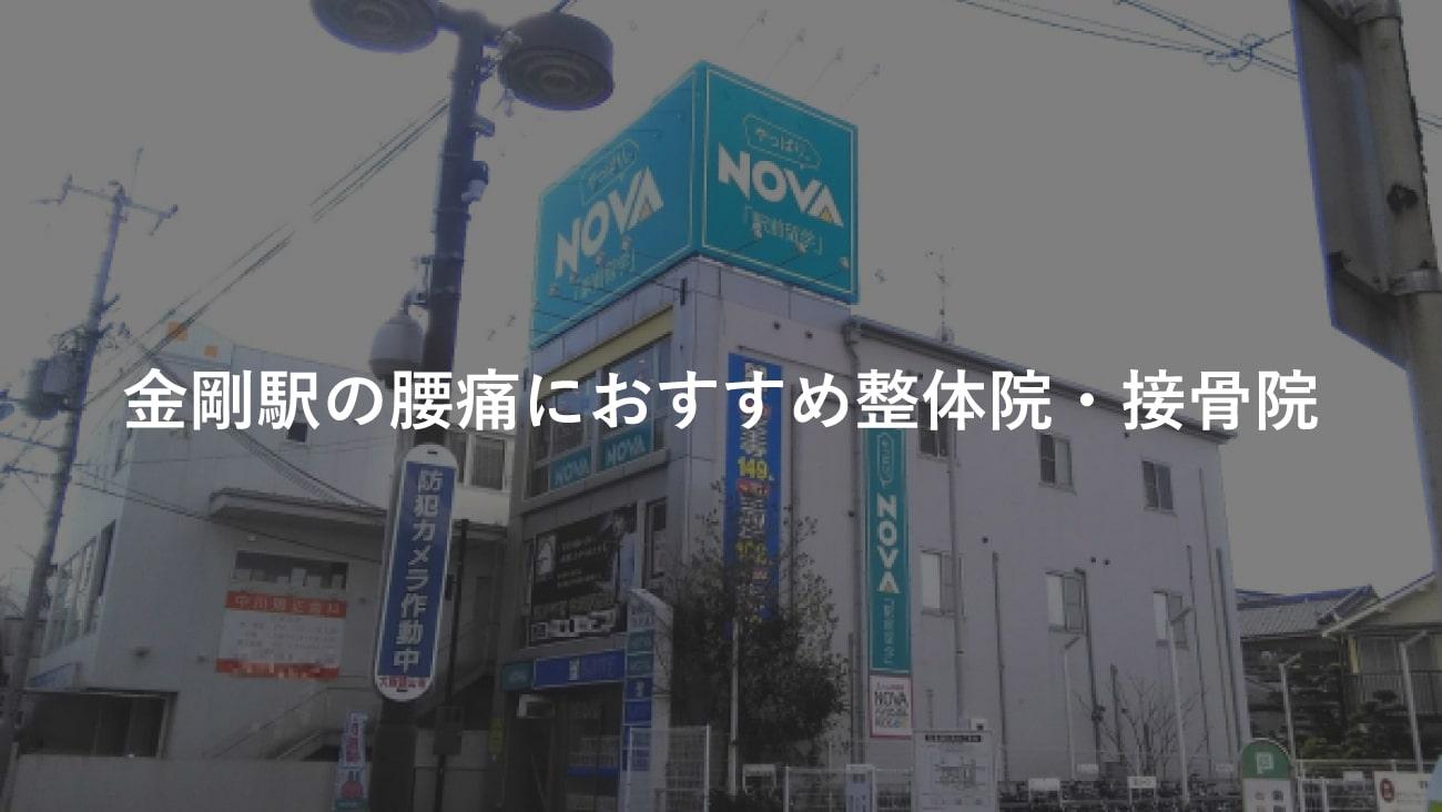 【金剛駅】周辺で腰痛におすすめの整体院・接骨院2選!のMV画像