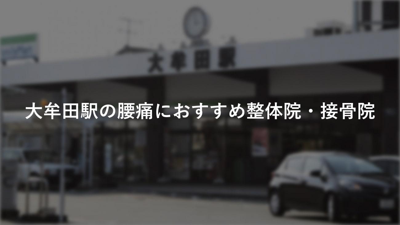 【大牟田駅】周辺で【腰痛】におすすめの整体院・接骨院3選!のMV画像