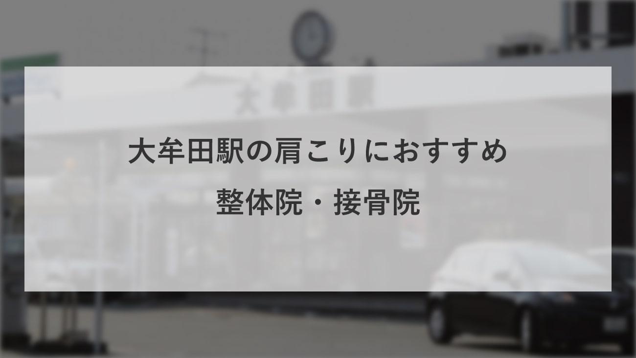 【大牟田駅】周辺で【肩こり】におすすめの整体院・接骨院3選!のMV画像