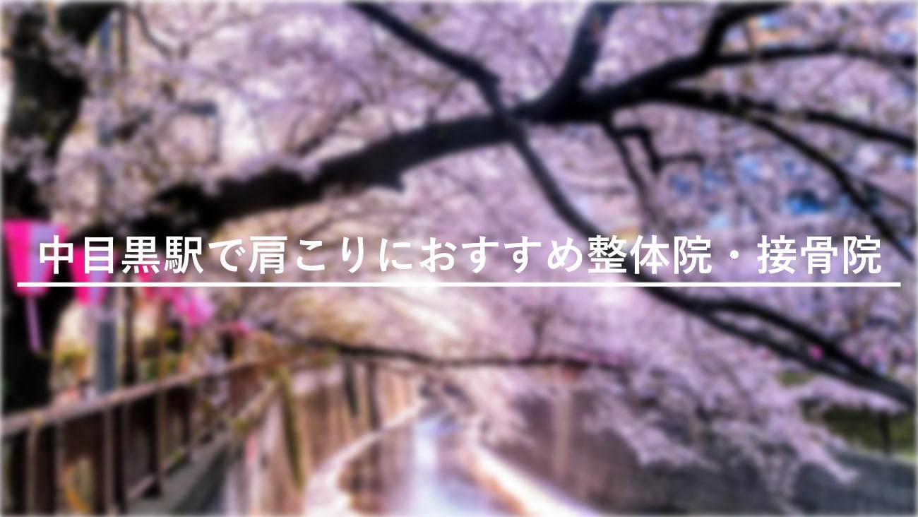 【中目黒駅】周辺で肩こりにおすすめの整体院・接骨院5選!のMV画像