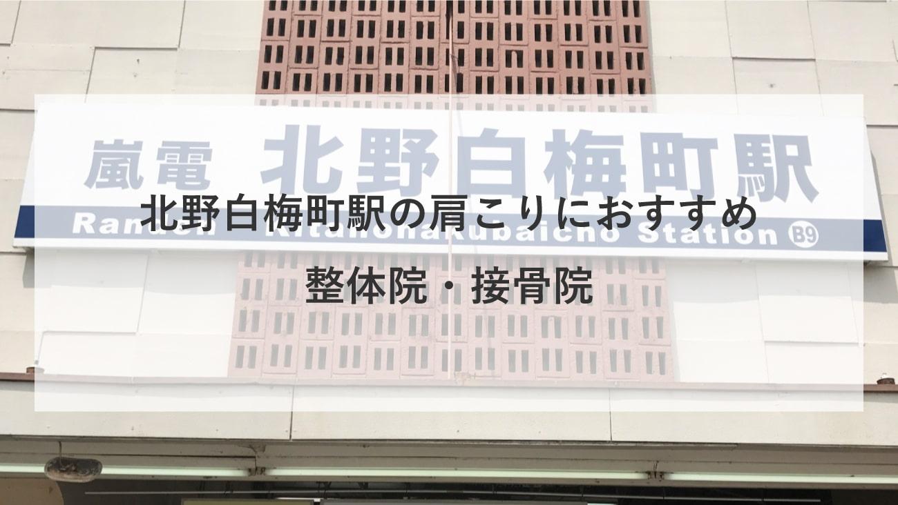 【北野白梅町駅】周辺で肩こりにおすすめの整体院・接骨院4選!のMV画像