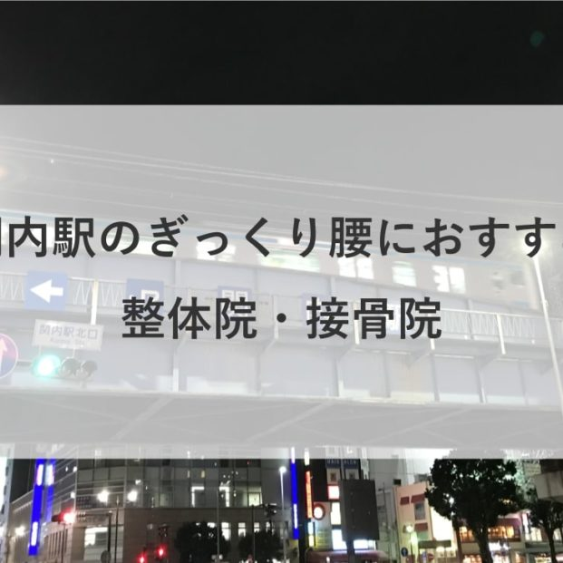 【関内駅】周辺でぎっくり腰におすすめの整体院・接骨院1選!  のMV画像