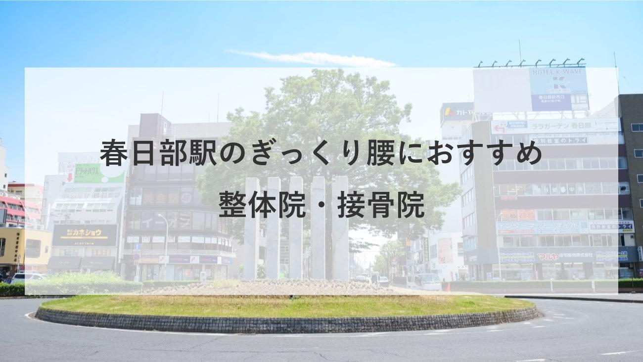 【春日部駅】周辺でぎっくり腰におすすめの整体院・接骨院4選!のMV画像