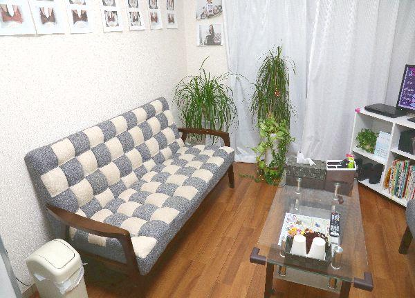 みのる鍼灸院の待合室画像