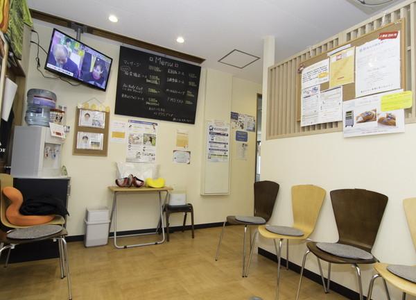 稲毛海岸アクティブ整骨院の待合室画像