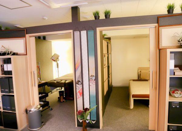 鍼灸兪楽治療院横浜店の内観画像