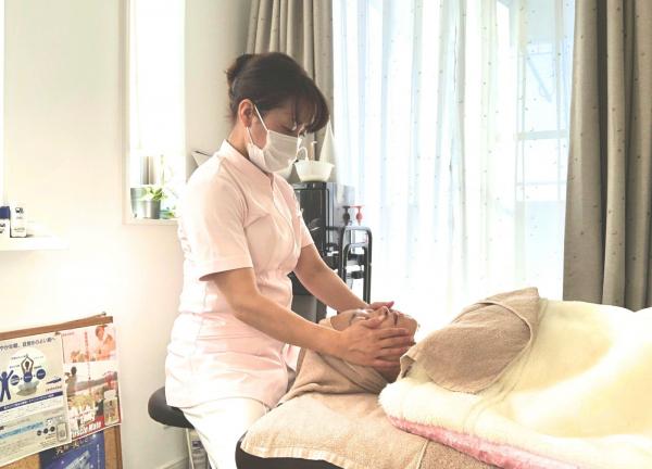 <女性専用サロン>美容カイロエステmamihaの施術風景画像