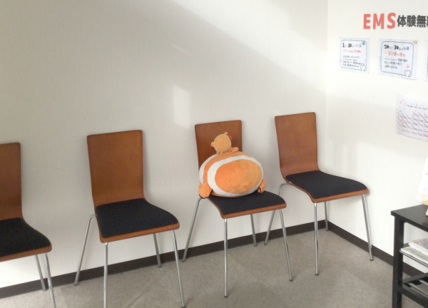 くまのみ整骨院 草加院の待合室画像