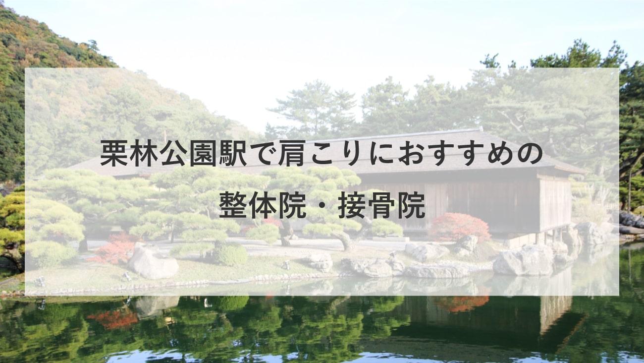 【栗林公園駅】周辺で肩こりにおすすめの整体院・接骨院2選!のMV画像