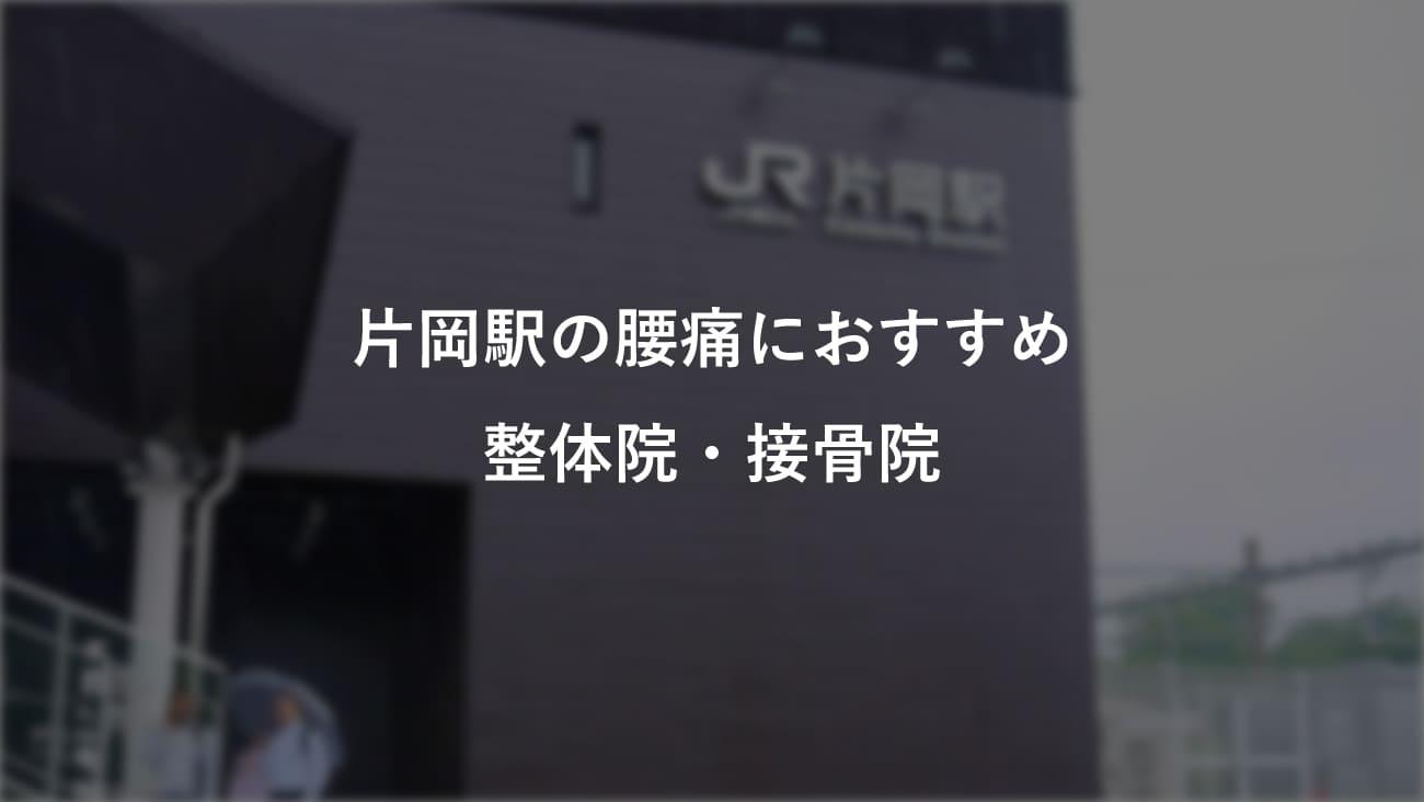 片岡駅周辺で腰痛におすすめの整体院・接骨院のコラムのメインビジュアル